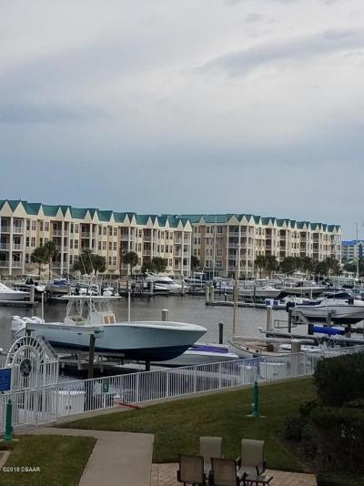 Ponce Inlet, South Daytona, Wilbur-by-the-sea Condo/Townhouse For Sale: 4630 Harbour Village Boulevard #1208