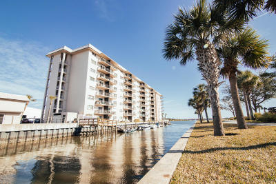 New Smyrna Beach Condo/Townhouse For Sale: 101 N Riverside Drive #7080