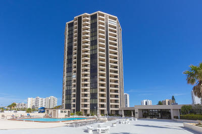 Daytona Beach Shores Condo/Townhouse For Sale: 1 Oceans West Boulevard #4A6