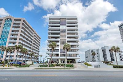 Daytona Beach Shores Condo/Townhouse For Sale: 3743 S Atlantic Avenue #8A00