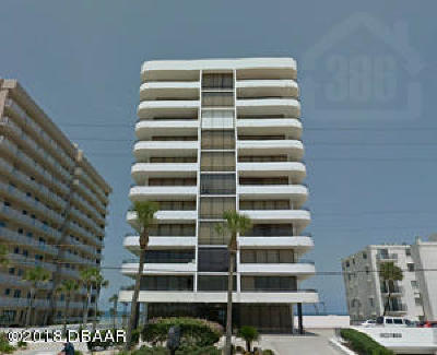 Daytona Beach Shores Condo/Townhouse For Sale: 3743 S Atlantic Avenue #6C00