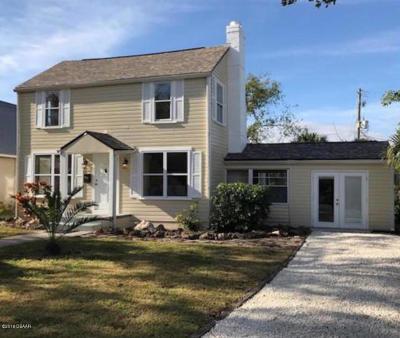 New Smyrna Beach Single Family Home For Sale: 208 S Orange Street