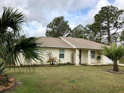 Palm Coast Single Family Home For Sale: 52 Price Lane