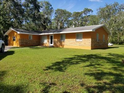 Port Orange Single Family Home For Sale: 2109 Old Daytona Road