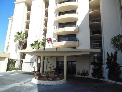 Daytona Beach Shores Condo/Townhouse For Sale: 3255 S Atlantic Avenue #106