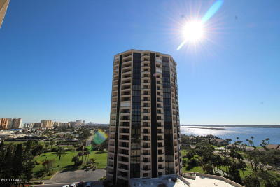 Daytona Beach Shores Condo/Townhouse For Sale: 1 Oceans West Boulevard #9A6