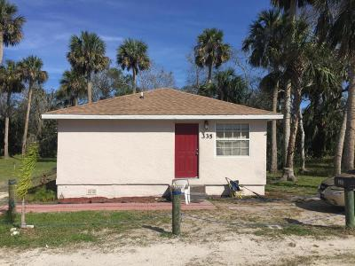 New Smyrna Beach Single Family Home For Sale: 335 N Myrtle Avenue