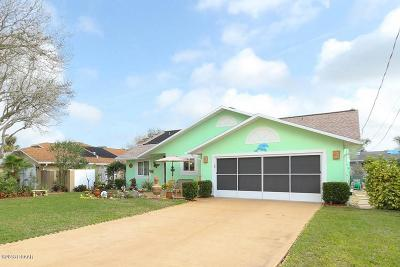 Ponce Inlet Single Family Home For Sale: 4719 Dixie Drive
