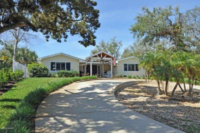 New Smyrna Beach Single Family Home For Sale: 1700 S Riverside Drive