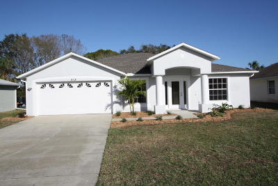 New Smyrna Beach Single Family Home For Sale: 513 Old Minorcan Trail