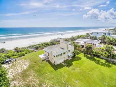 Daytona Beach Shores Single Family Home For Sale: 2737 S Atlantic Avenue