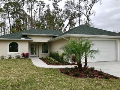 New Smyrna Beach Single Family Home For Sale: 1395 Claudette Street