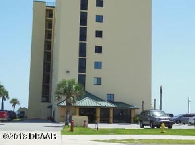 Daytona Beach Shores Condo/Townhouse For Sale: 3647 S Atlantic Avenue #9C