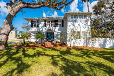 Ormond Beach Single Family Home For Sale: 553 Riverside Drive