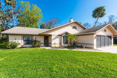 Port Orange Single Family Home For Sale: 479 Newton Road