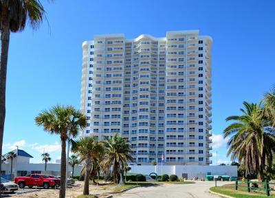 Daytona Beach Shores Condo/Townhouse For Sale: 2 Oceans West Boulevard #1400