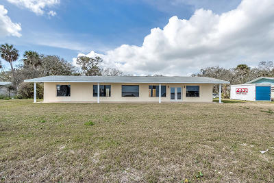 Ponce Inlet, South Daytona, Wilbur-by-the-sea Single Family Home For Sale: 2247 S Palmetto Avenue