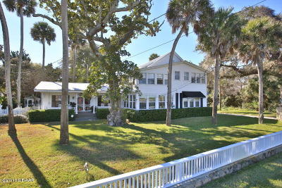 Ormond Beach Single Family Home For Sale: 502 S Beach Street