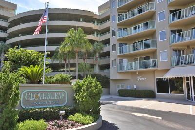 Daytona Beach Shores Condo/Townhouse For Sale: 4 Oceans West Boulevard #206B
