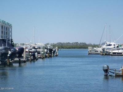 Ponce Inlet Boat Slip For Sale: 4621 Rivers Edge Village Lane #90