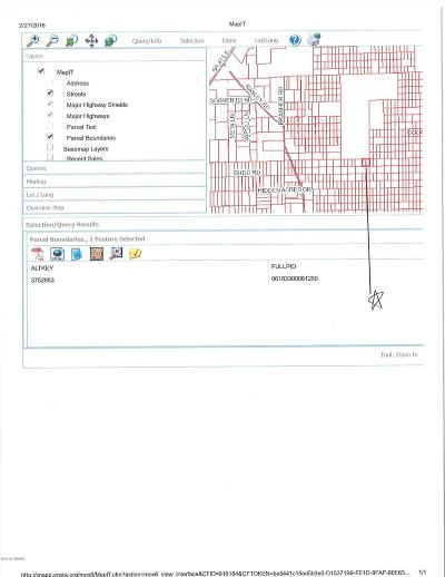 Volusia County Residential Lots & Land For Sale: County Road