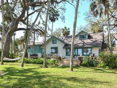 New Smyrna Beach Single Family Home For Sale: 646 N Riverside Drive