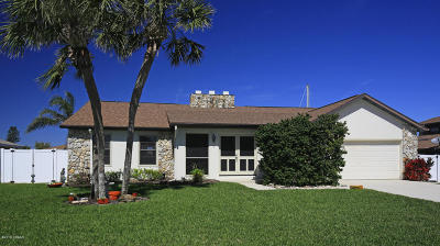 Ponce Inlet, South Daytona, Wilbur-by-the-sea Single Family Home For Sale: 130 Anchor Drive
