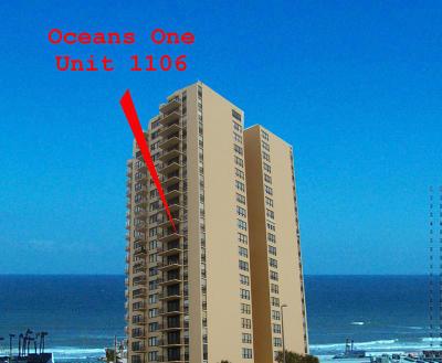 Daytona Beach Shores Condo/Townhouse For Sale: 3051 S Atlantic Avenue #1106