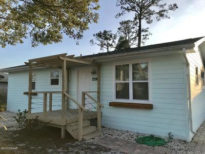New Smyrna Beach Single Family Home For Sale: 2510 Nordman Avenue