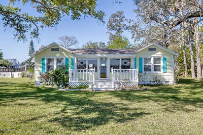 Flagler County, Volusia County Single Family Home For Sale: 538 Riverside Drive