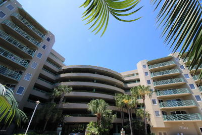Daytona Beach Shores Condo/Townhouse For Sale: 4 Oceans West Boulevard #505A
