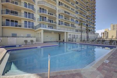 Daytona Beach Condo/Townhouse For Sale: 3425 S Atlantic Avenue #2005
