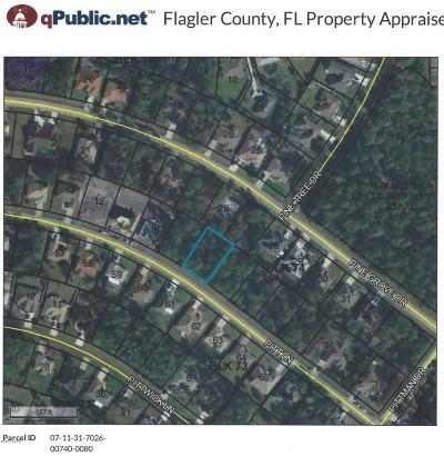 Palm Coast FL Residential Lots & Land For Sale: $19,000