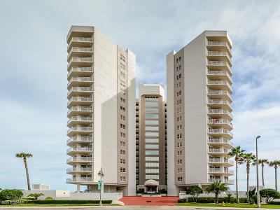 Daytona Beach Shores Condo/Townhouse For Sale: 2967 S Atlantic Avenue #808