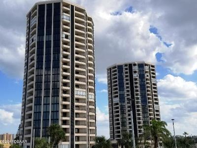 Daytona Beach Shores Condo/Townhouse For Sale: 1 Oceans West Boulevard #10A2