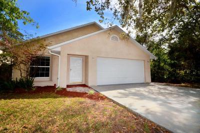 New Smyrna Beach Single Family Home For Sale: 2815 Glenwood Avenue