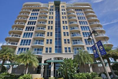 Daytona Beach Condo/Townhouse For Sale: 3703 S Atlantic Avenue #604