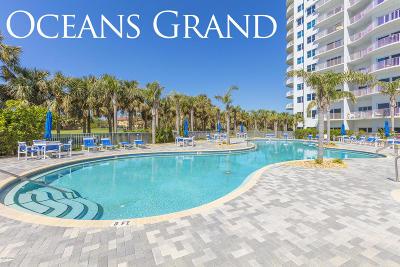 Daytona Beach Shores Condo/Townhouse For Sale: 2 Oceans West Boulevard #1107