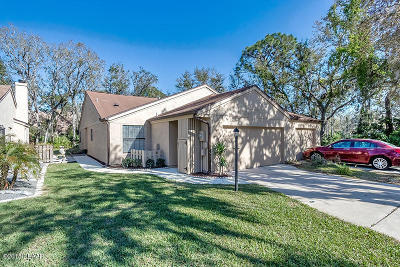 Volusia County Attached For Sale: 6208 Sequoia Drive