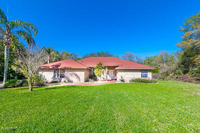 Port Orange Single Family Home For Sale: 5812 Spruce Creek Woods Drive