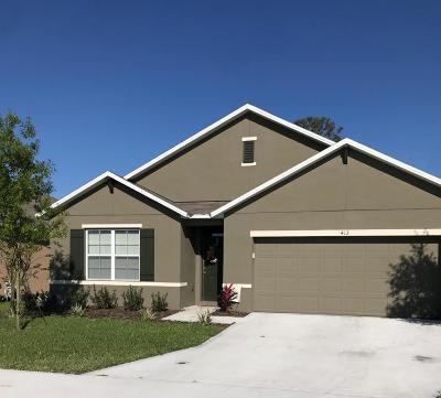 New Smyrna Beach Single Family Home For Sale: 413 White Coral Lane