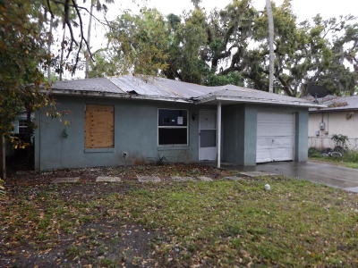 Volusia County Single Family Home For Sale: 511 Park Drive