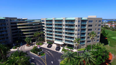 Daytona Beach Shores Condo/Townhouse For Sale: 4 Oceans West Boulevard #303A