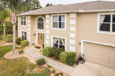 Palm Coast Single Family Home For Sale: 22 Lansdowne Lane