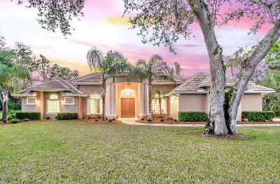 Ormond Beach Single Family Home For Sale: 10 Coquina Stone Lane