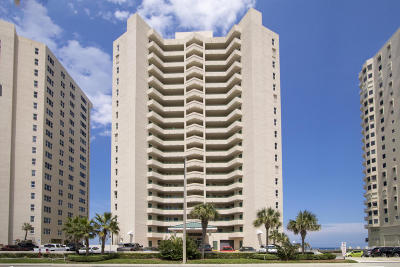 Daytona Beach Condo/Townhouse For Sale: 3315 S Atlantic Avenue #405