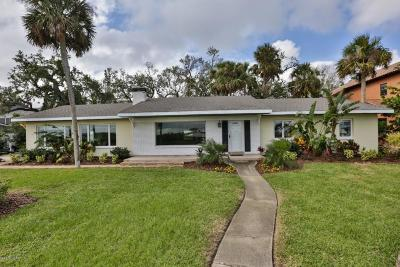 New Smyrna Beach Single Family Home For Sale: 1320 S Riverside Drive