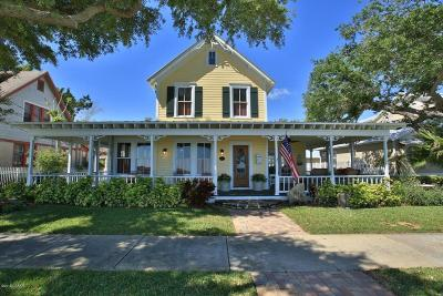 New Smyrna Beach Single Family Home For Sale: 616 S Riverside Drive