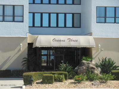 Daytona Beach Shores Condo/Townhouse For Sale: 3043 S Atlantic Avenue #1201