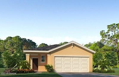 New Smyrna Beach Single Family Home For Sale: 2819 Taton